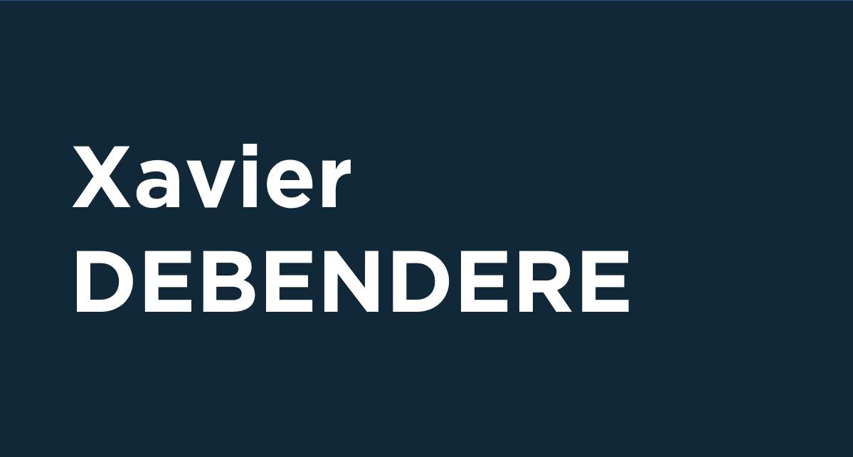 Xavier Debendere