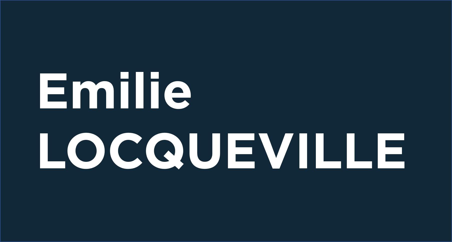 Emilie Locqueville