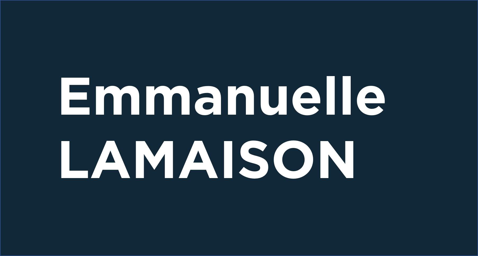 Emmanuelle Lamaison