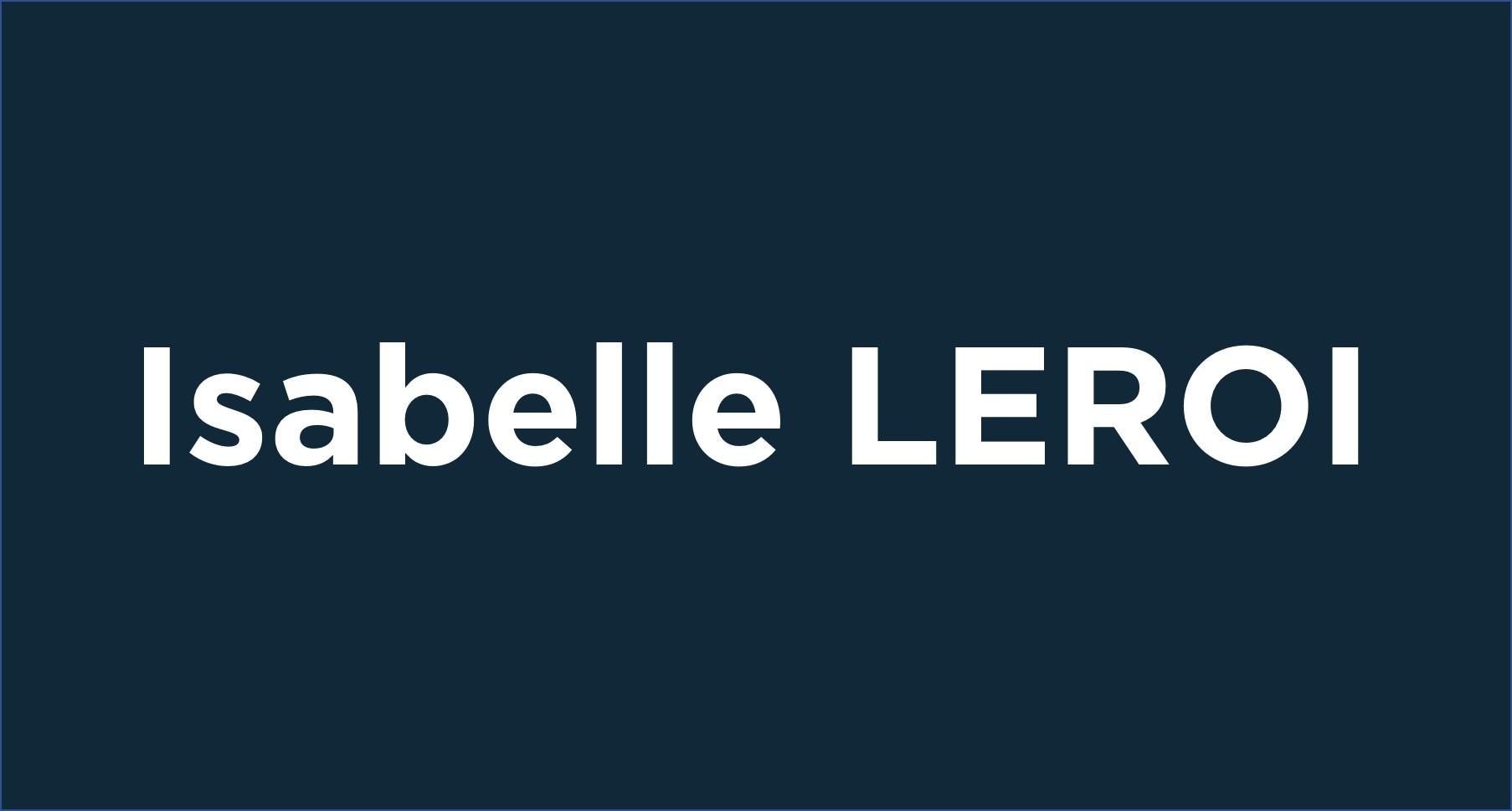 Isabelle Leroi