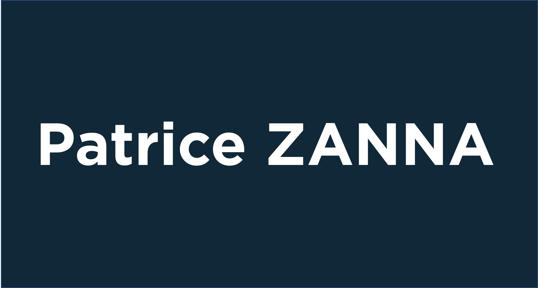 Patrice Zanna